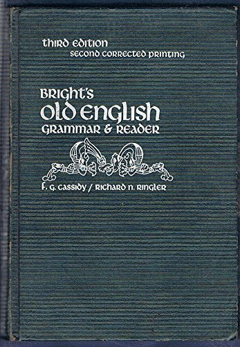 Bright'S Old English Grammar & Reader