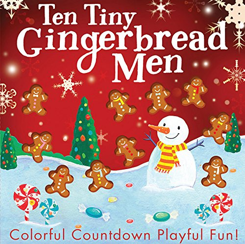 Ten Tiny Gingerbread Men
