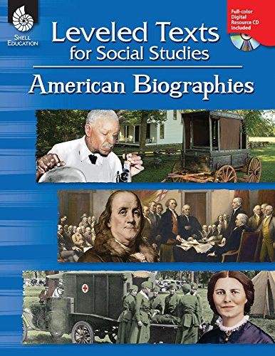 Leveled Texts For Social Studies: American Biographies