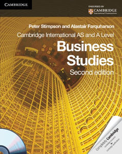 Cambridge International As And A Level Business Studies Coursebook With Cd-Rom (Cambridge International Examinations)
