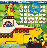 The Beatles Yellow Submarine 2016 Art Calendar