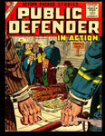 Public Defender In Action #10: Golden Age Detective - Mystery Comic