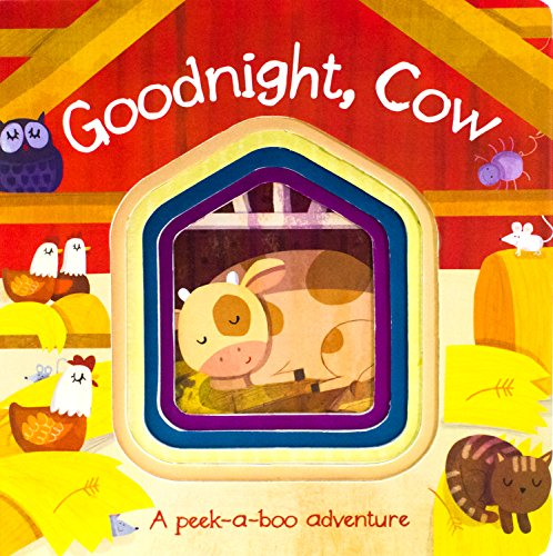 Goodnight, Cow (Die-Cut Animal Board)