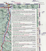 Sangre De Cristo Wilderness & Great Sand Dunes National Park Trail Map 4Th Edition
