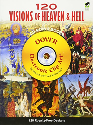 120 Visions Of Heaven And Hell Cd-Rom And Book (Dover Electronic Clip Art)