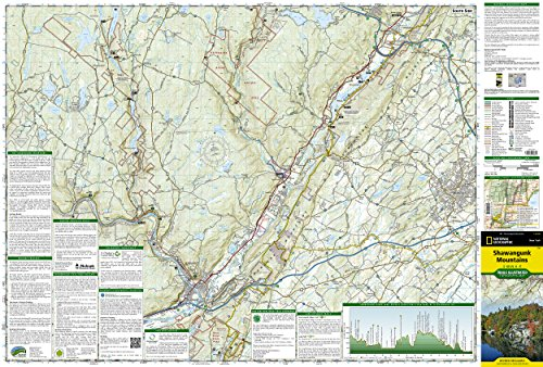 Shawangunk Mountains (National Geographic Trails Illustrated Map)