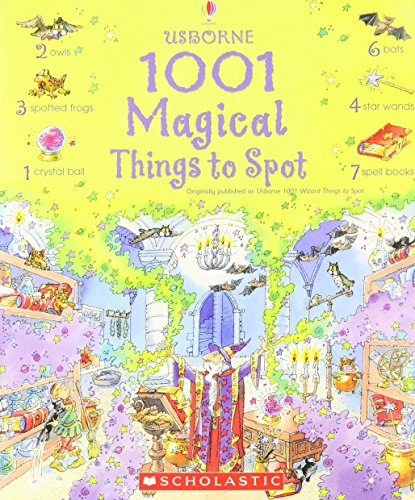 1001 Magical Things To Spot (Usborne 1001 Wizard Things To Spot)