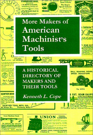 More Makers Of American Machinist'S Tools