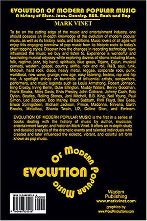 Evolution Of Modern Popular Music: A History Of Blues, Jazz, Country, R&B, Rock And Rap