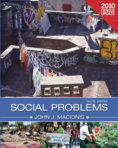 Social Problems, Census Update (4Th Edition)