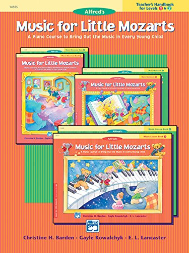 Music For Little Mozarts Teacher'S Handbook, Bk 1 & 2: A Piano Course To Bring Out The Music In Every Young Child