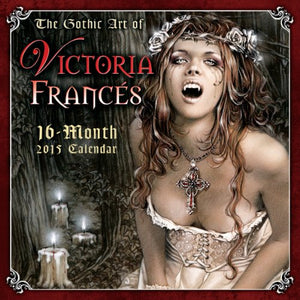 The Gothic Art Of Victoria Frances 2015 Wall Calendar