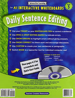 Interactive Learning: Daily Sentence Editing Grade 3