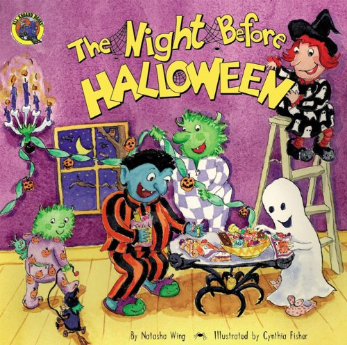 The Night Before Halloween (Turtleback School & Library Binding Edition) (All Aboard Books (Pb))