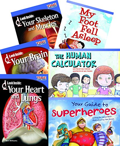 The Human Body  6-Book Set (Classroom Library Collections)