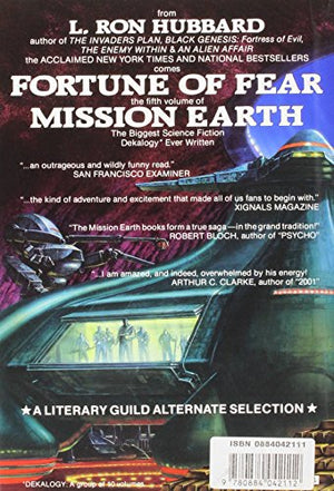 Fortune Of Fear (Mission Earth Series)