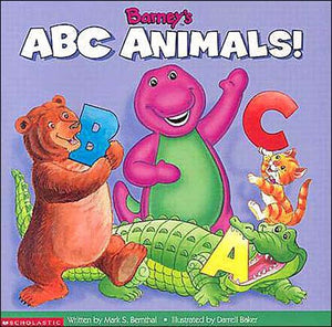 Barney'S Abc Animals (Book And Cassette)