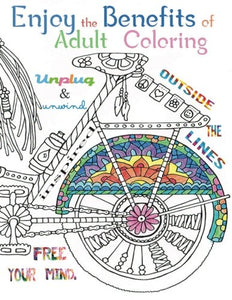 Enjoy The Benefits Of Adult Coloring: This A4 50 Page Adult Coloring Book Has A Fantastic Collection Of Mandalas, Animals, Birds, Flowers And Objects ... Motivate And Make You Smile (Volume 1)