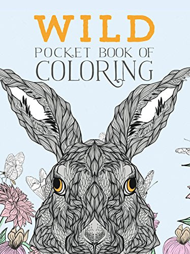 Wild Pocket Book Of Coloring