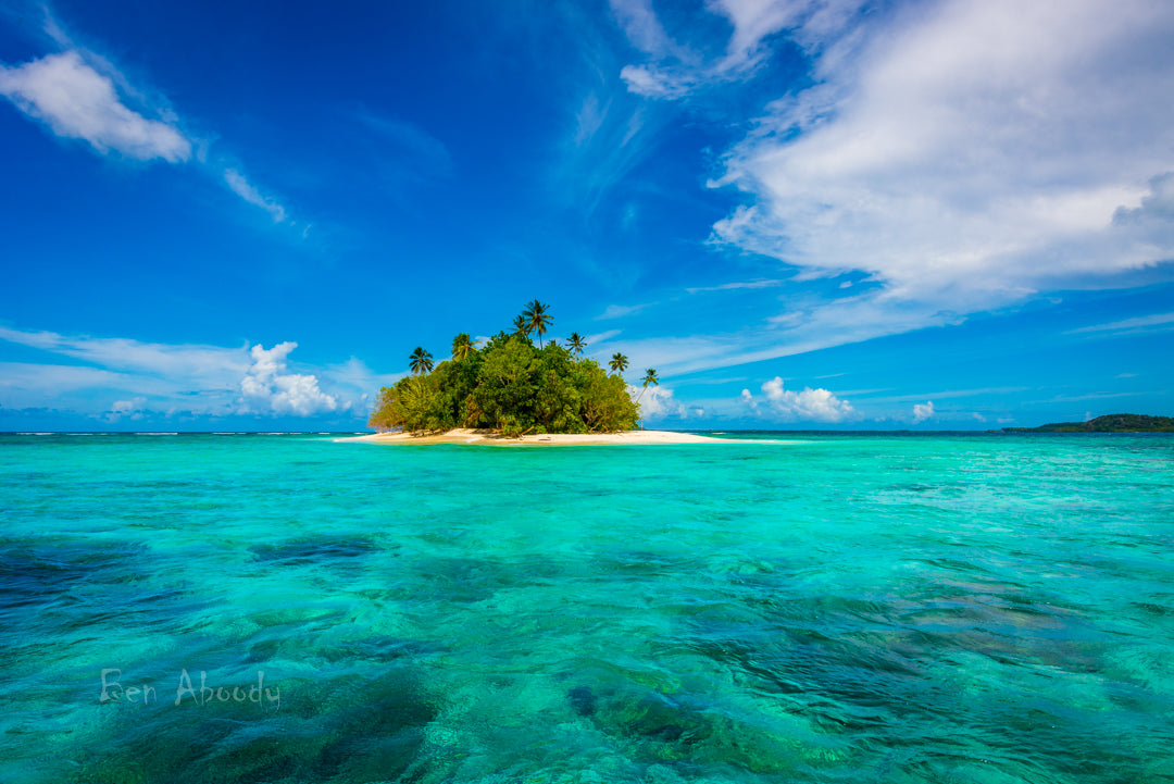 Paradise Island, Solomon Islands. - Ben Aboody Photography