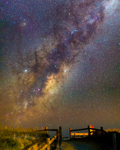 The Rising Milky Way - Ben Aboody Photography
