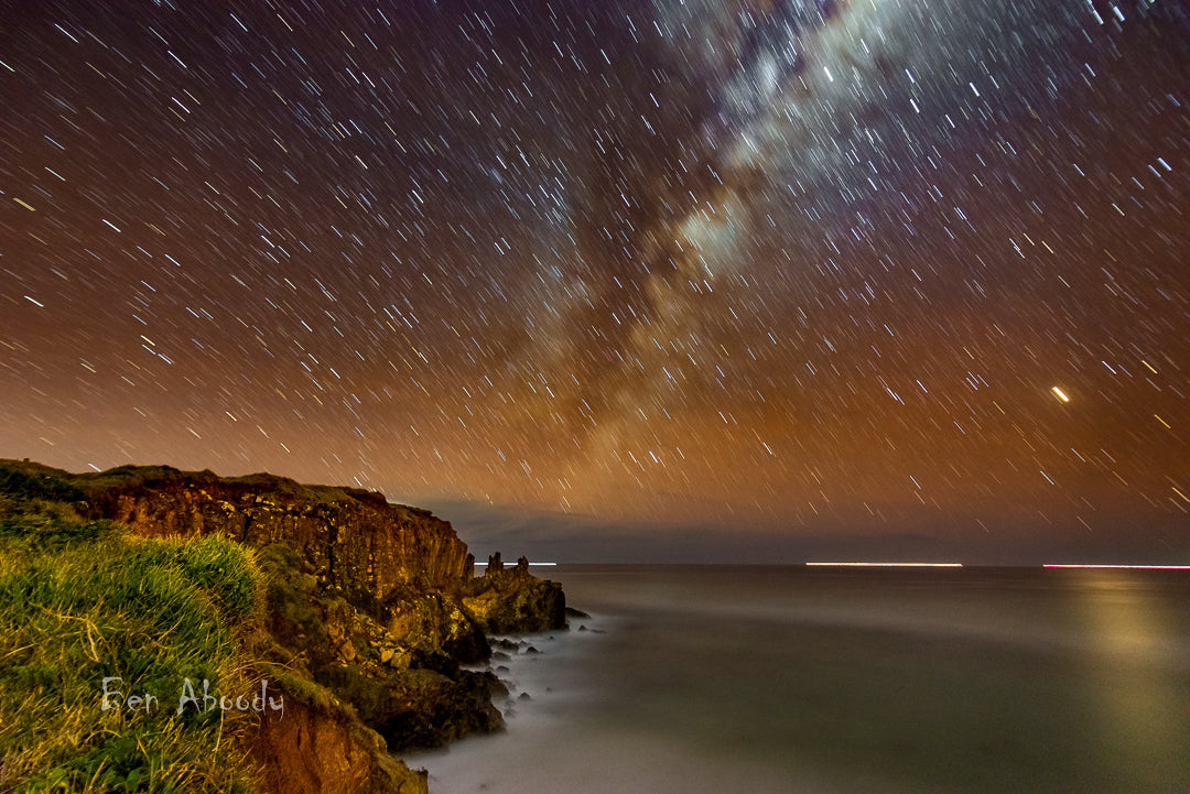North Boulders Milky Way - Ben Aboody Photography