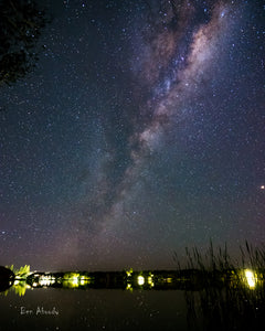 Lake Ainsworth, Milky Way - Ben Aboody Photography