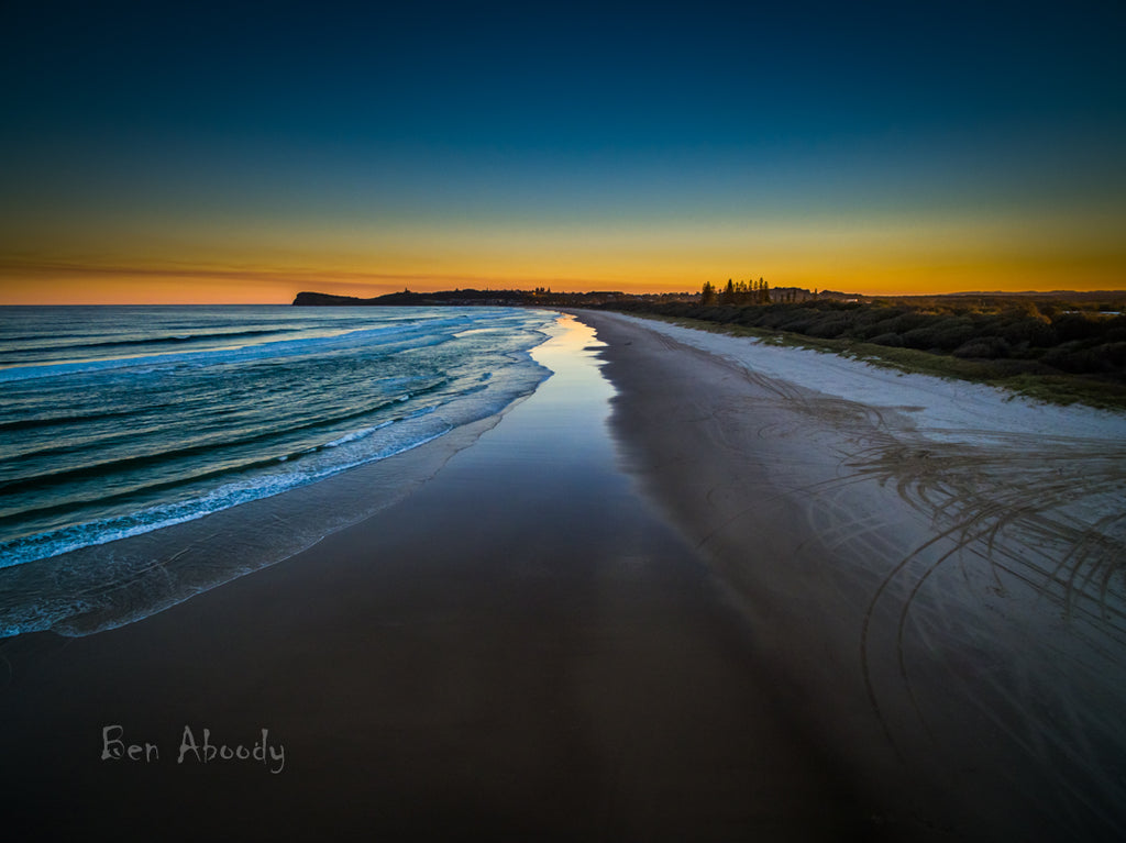 7 Mile Beach, Lennox Head. - Ben Aboody Photography