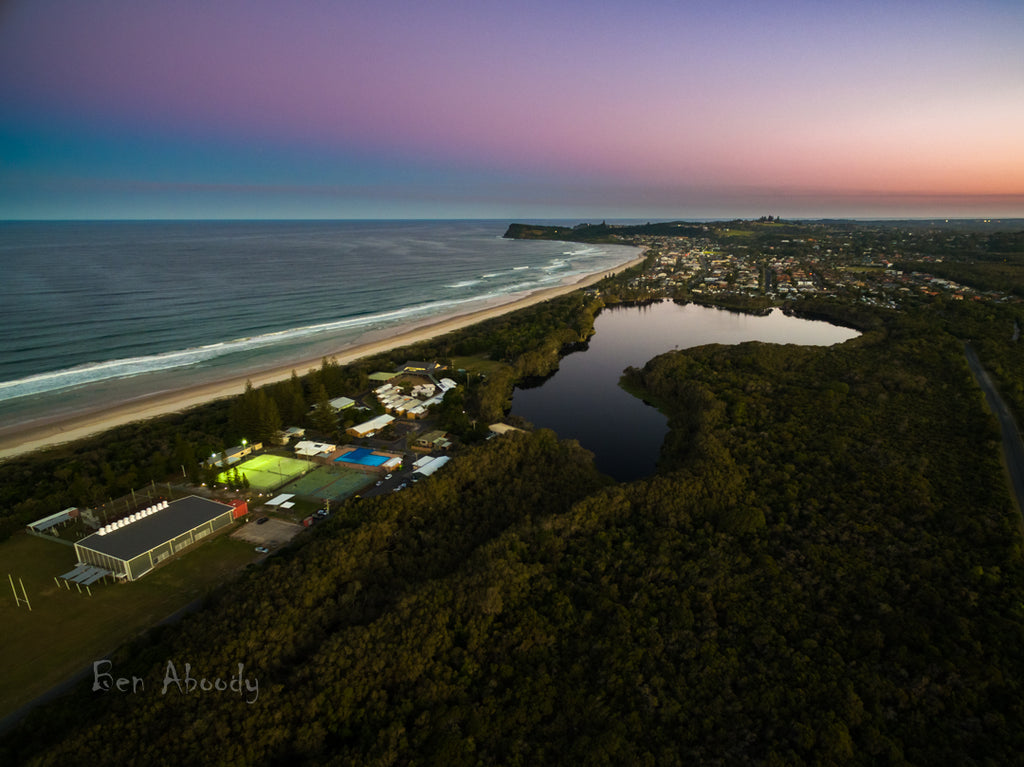 Lake Ainsworth, Lennox Head. Australia. - Ben Aboody Photography