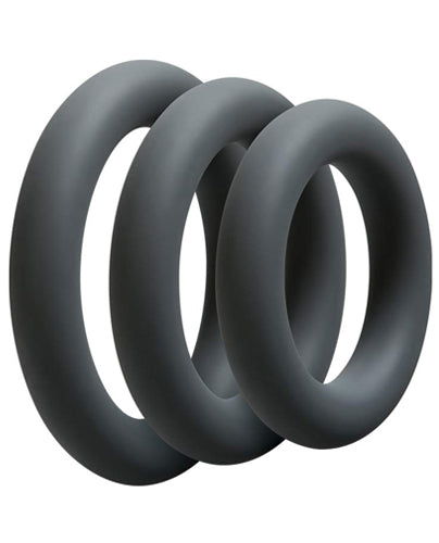 OptiMale 3 Thick C-Ring Set - Slate