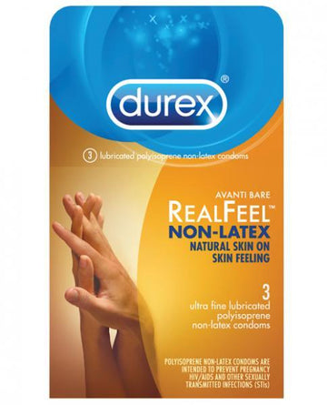 Durex Avanti Real Feel Non-Latex Condoms - 3 Pack