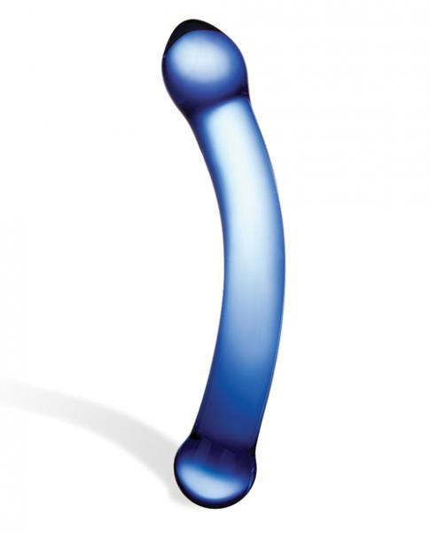6-Inch Curved G-Spot Glass Dildo