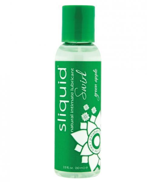Sliquid Swirl Lube Green Apple
