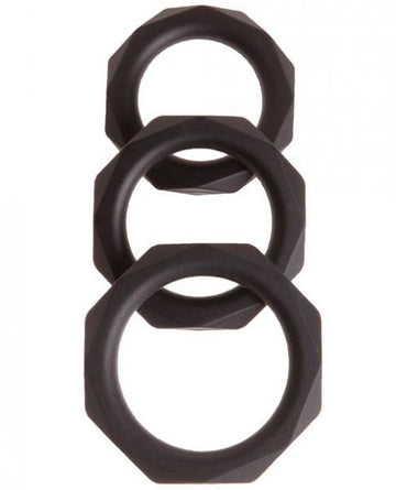 Malesation Diamond C-Ring Set Pack Of 3