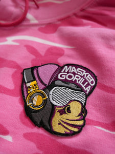 Masked Gorilla 'Embroidered Patch Logo' Hoodie