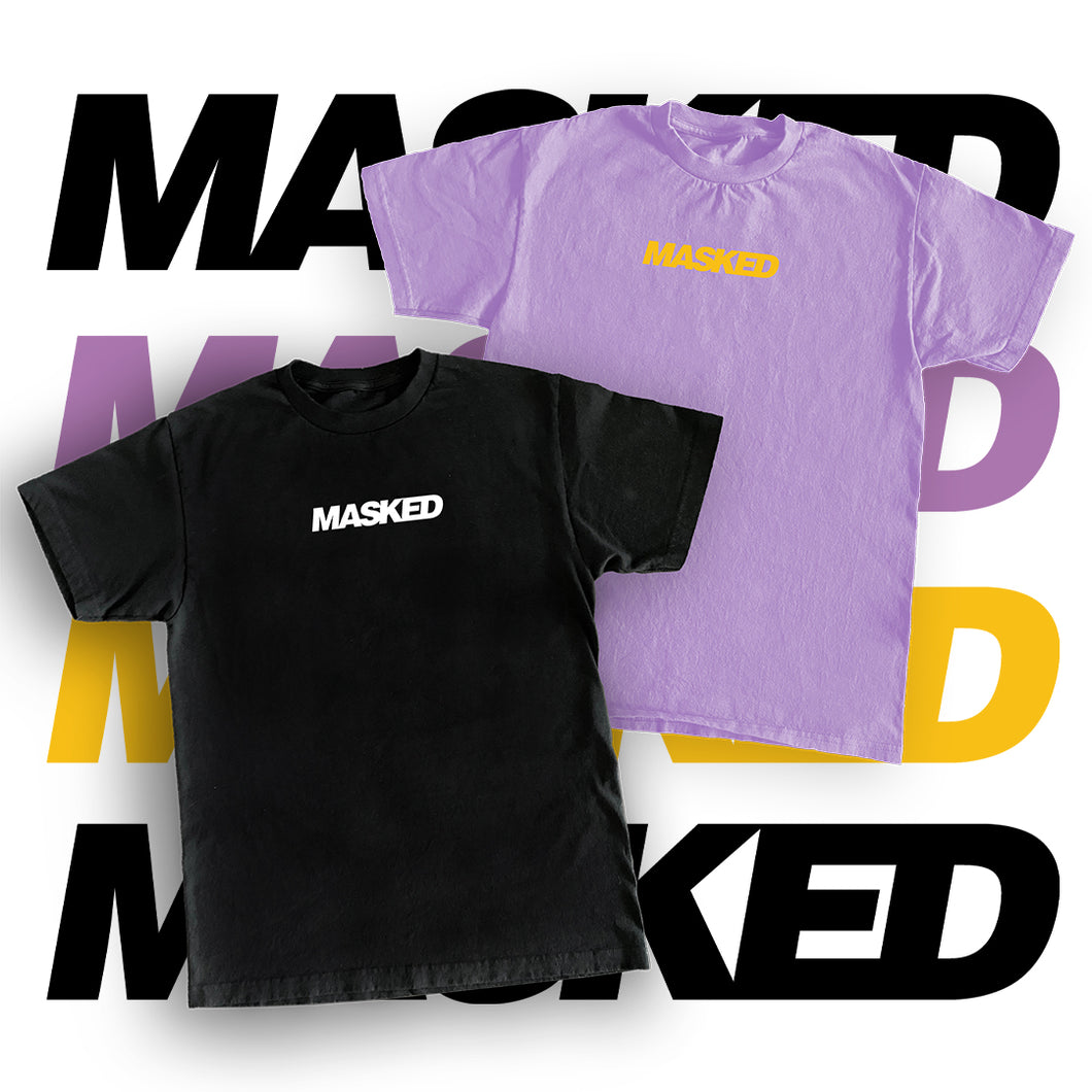 MASKED 'Boxless Logo' Tee (Limited)