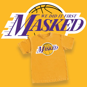 MASKED 'Lakers' Tee (Limited)