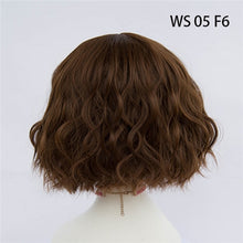 Load image into Gallery viewer, Your Style 43 Colors Short Wigs Natural Hair For Women Black  Brown Gray Synthetic African American Wigs High Temperature Fiber