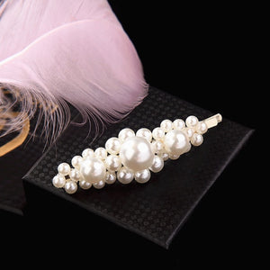 Korean 8 Styles Acrylic Imitation Pearl Women Barrettes Elegant For Female Girl Hair Clip Hairgrips Hair Accessories