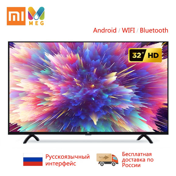 Television xiaomi Mi TV Android smart TV led 4S 32 inches | Customized Russian language