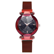 Load image into Gallery viewer, Luxury Women Watches 2019 Ladies Watch Starry Sky Magnetic Waterproof Female Wristwatch Luminous relogio feminino zegarek damski