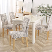 Load image into Gallery viewer, 1PC Floral Print Chair Cover Dining Elastic Chair Covers Spandex Stretch Elastic Europe Style  Anti-dirty Removable 1/2/4/6piece