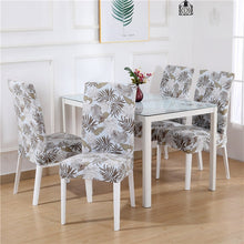Load image into Gallery viewer, Dining Chair Cover Spandex Elastic Pastoral Print Modern Slipcovers Furniture Cover Kitchen Wedding housse de chaise 1/2/4/6PCS