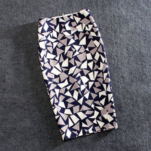 Load image into Gallery viewer, Women Skirts 20 Colors Print Flowers Pencil Skirt Summer Casual Skirts Fashion Plus Size Faldas Mujer Jupe