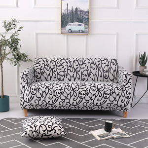 Elastic  Stretch Sofa Cover SlipcoversAll-inclusive Couch Case for Different Shape Sofa Loveseat Chair L-Style need 2 Sofa Case
