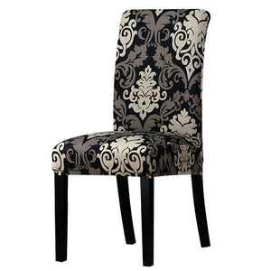Printed Stretch Chair Cover big elastic seat chair covers Office chair slipcovers Restaurant banquet hotel home decoration