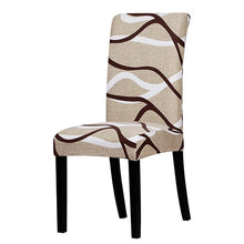 Load image into Gallery viewer, Printed Stretch Chair Cover big elastic seat chair covers Office chair slipcovers Restaurant banquet hotel home decoration
