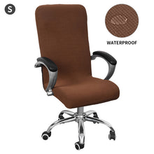 Load image into Gallery viewer, Stretch Office Computer Chair Cover Rotating Desk Seat Polyester Spandex Waterproof Elastic Chair Slipcover Washable Removeable