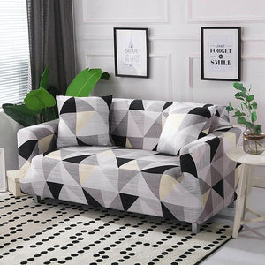 1PC Stripe Sofa Cover Set Elastic Couch Cover Sofa Covers for Living Room Pets cubre sofa L shape Chair Cover 1/2/3/4-Seater