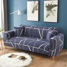 Load image into Gallery viewer, 1PC Stripe Sofa Cover Set Elastic Couch Cover Sofa Covers for Living Room Pets cubre sofa L shape Chair Cover 1/2/3/4-Seater